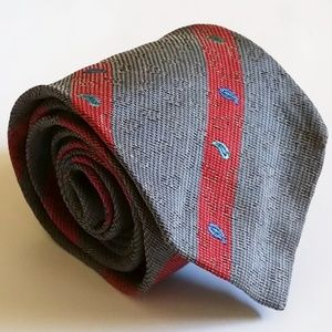 Fendi 50% Linen 50% Cotton Tie